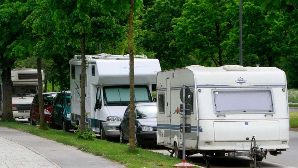 München Ackermannstraße: Anhänger und Wohnwägen dürfen parken | Stadt