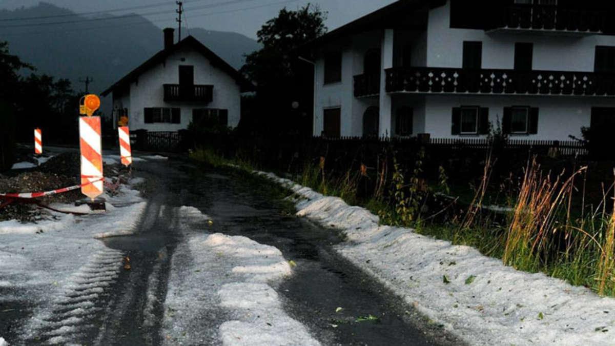 Unwetter Garmisch