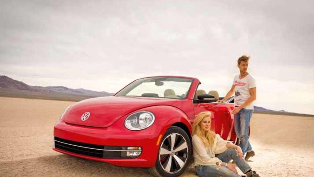 Vw Beetle Cabrio Feiert Weltpremiere Auf Der Los Angeles Auto Show
