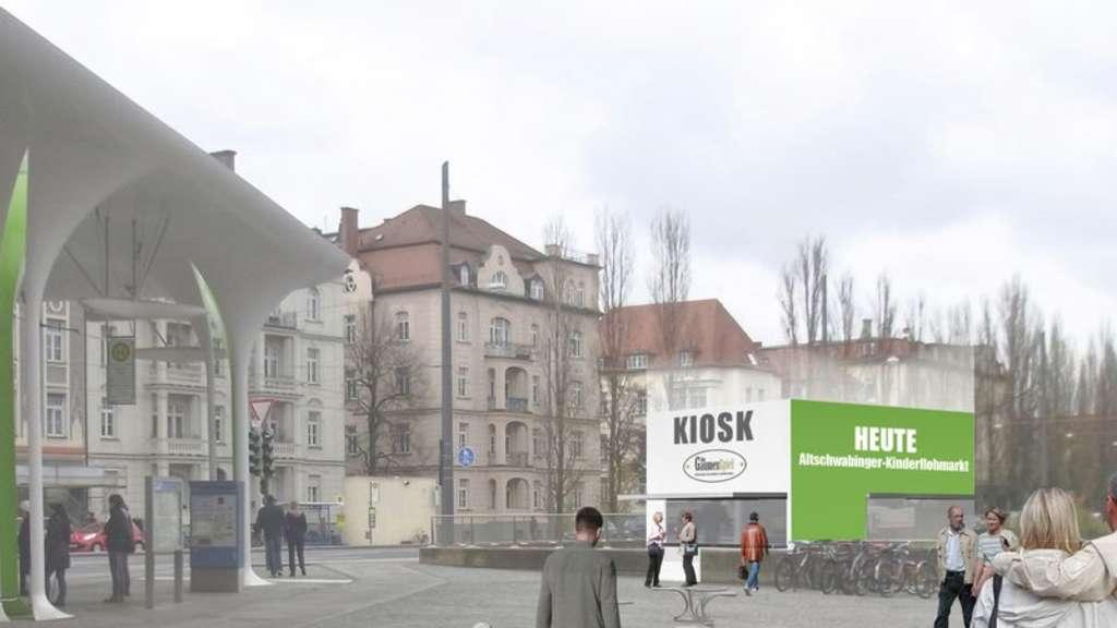 23 stunden kiosk an m nchner freiheit genehmigt stadt. Black Bedroom Furniture Sets. Home Design Ideas