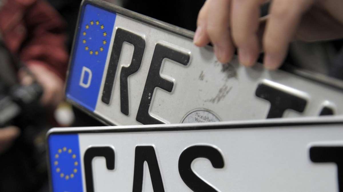 Kfz-Kennzeichen: Alte Nummernschilder sind wieder da | Auto