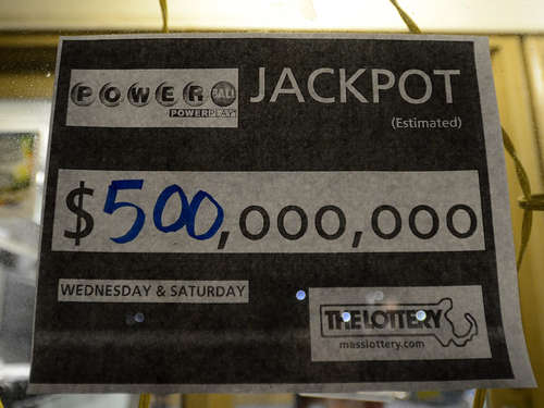 Powerball in den USA: 500 Millionen Dollar im Jackpot