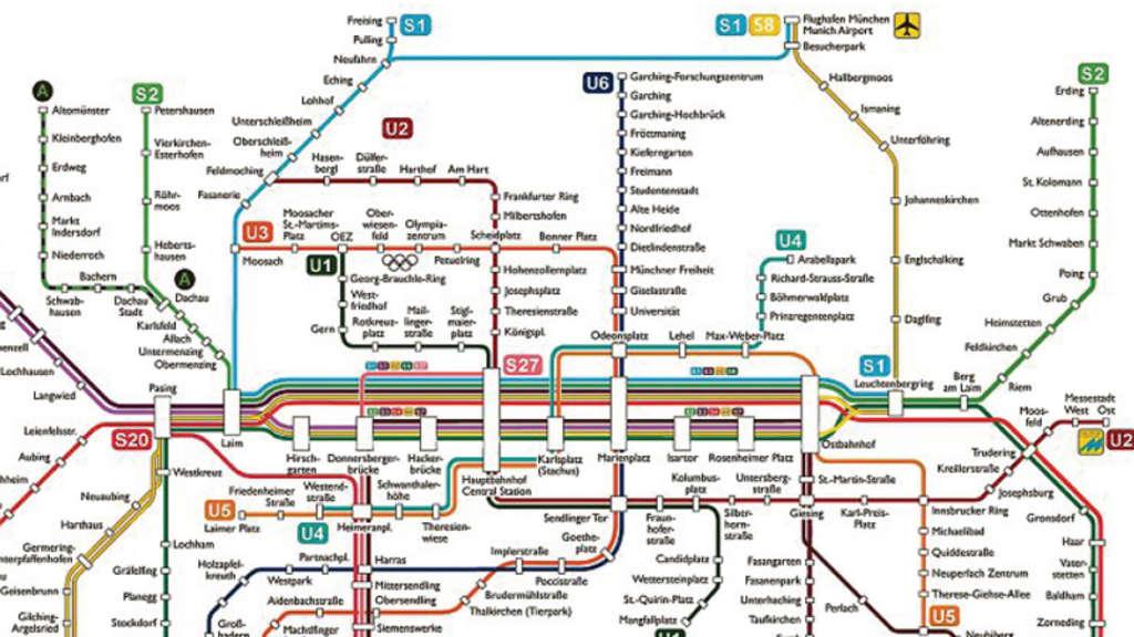 S Bahn Karte München.München Das Ist Der S Bahn Plan Der Zukunft Stadt