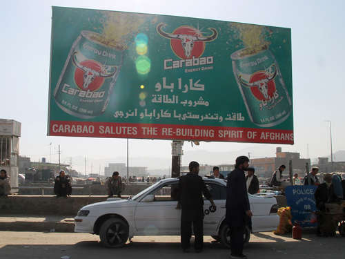 Energy-Drinks boomen in Afghanistan