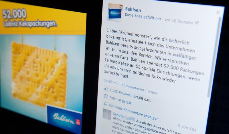 cd39d1fccf Michael Thomas/HAZ Krümelmonster Bahlsen Keks ...