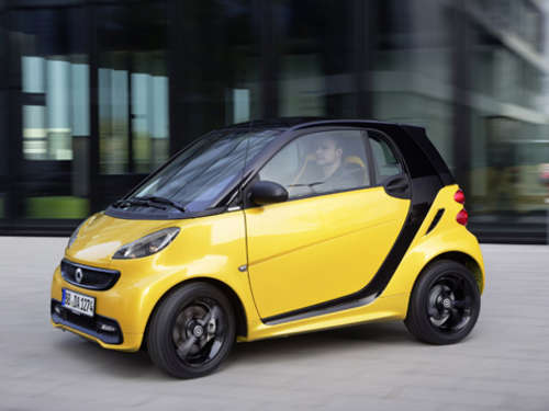 "Sonnig: Smart fortwo ""edition cityflame"""