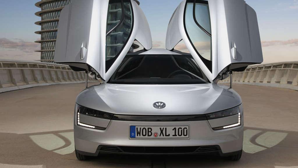 vw xl1 volkswagen stellt hightech ein liter auto vor auto. Black Bedroom Furniture Sets. Home Design Ideas