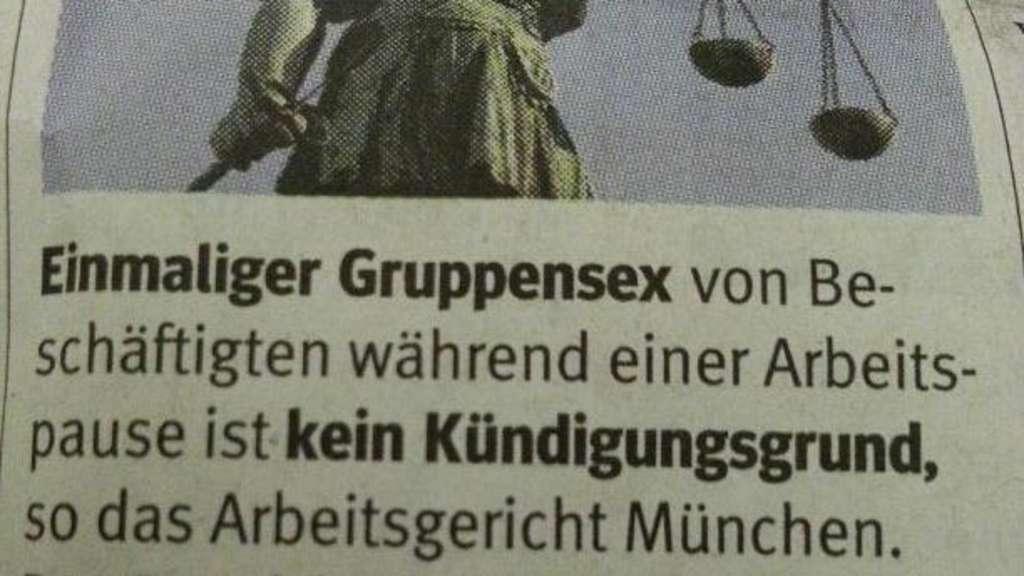 Ebersberg: Facebook-Wirbel um diese Gruppensex-Meldung
