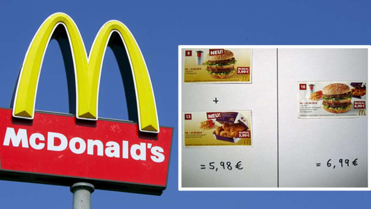 Gutschein-Panne: Abzocke bei McDonald\'s? Rechnen Sie mal nach...   Welt
