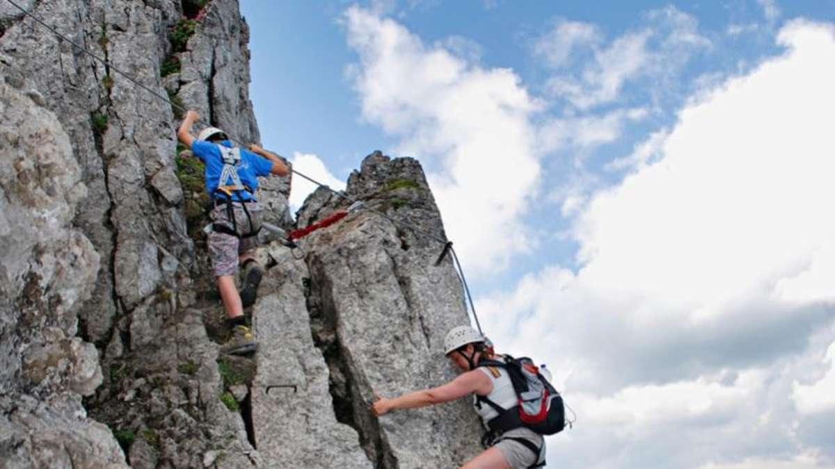 Klettersteig Norddeutschland : Münchner feuerwehr rettet bergsteiger in italien stadt