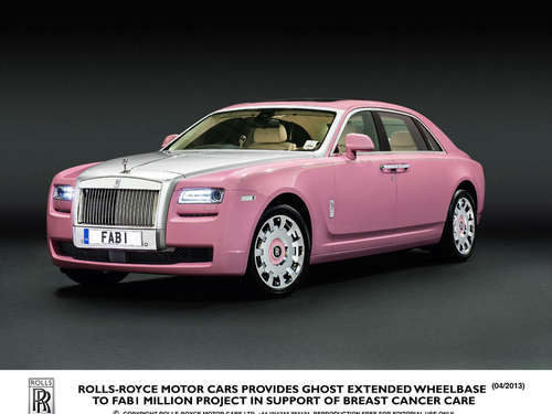 Rolls-Royce in Rosa