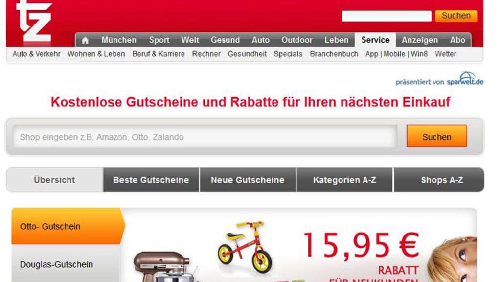 Neues Gutschein Portal Der Tz Clever Online Shoppen Und Sparen Stadt