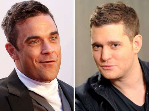 Robbie Williams gibt Michael Bublé Tipps