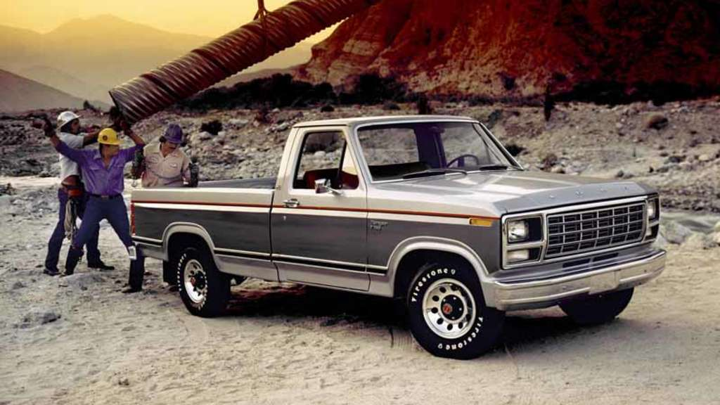 Ford F Pickup Truck Fahrzeug Bf Rdryrdbkn A