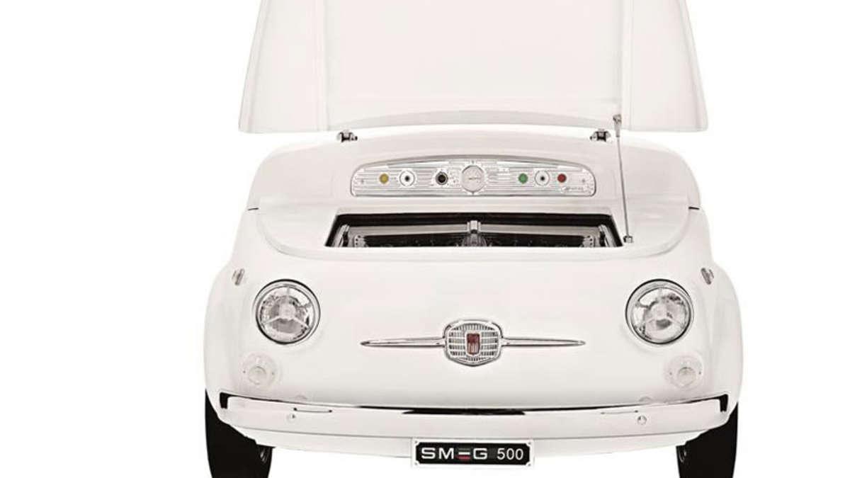 Smeg Kühlschrank Zu Laut : Fiat design für einen kühlschrank auto