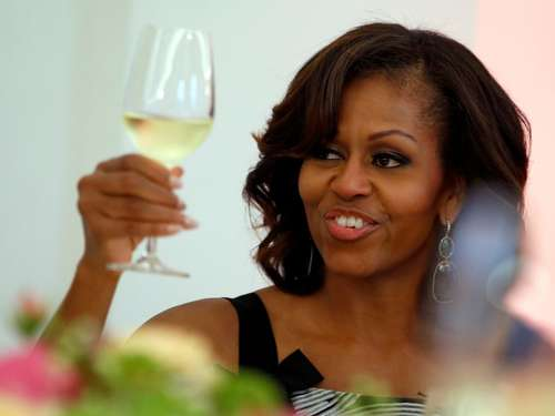 "Michelle Obama war ""sehr reizend"""