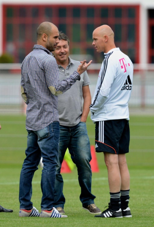 Pep Guardiola Fc Bayern Munchen Spielt Ribery Bei Ihm Auf Der 10