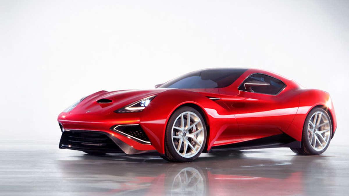 icona vulcano supersportwagen mit 950 ps v12 hybrid. Black Bedroom Furniture Sets. Home Design Ideas