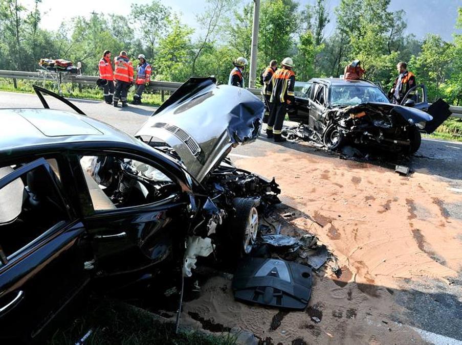Unfall Oberau