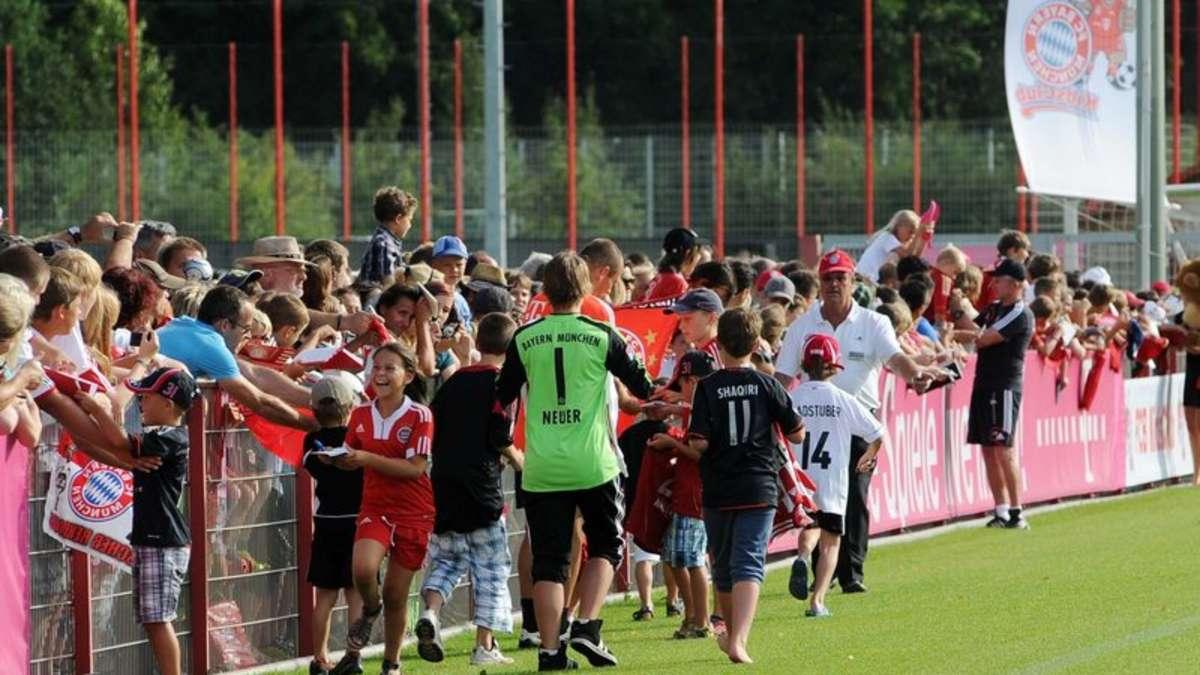 öffentliches Training Fc Bayern München Termine