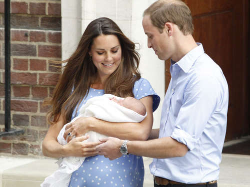 Royal Baby: Kate und William verraten Namen