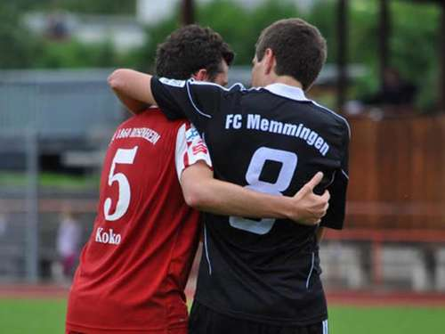 FC Memmingen will in Rosenheim rotieren