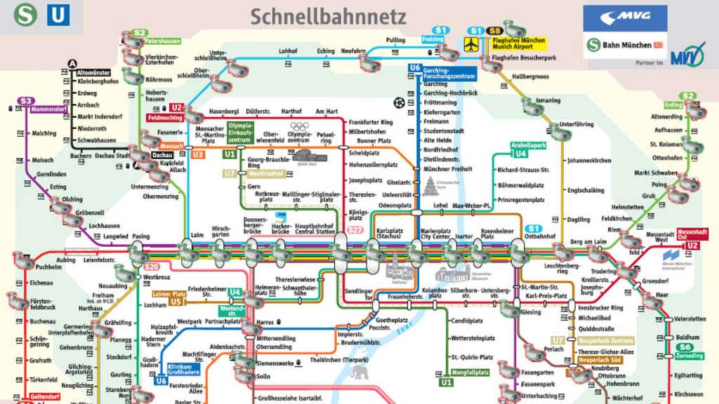 Bahn installiert Kameras an 41 S-Bahnhöfen in München | Stadt on