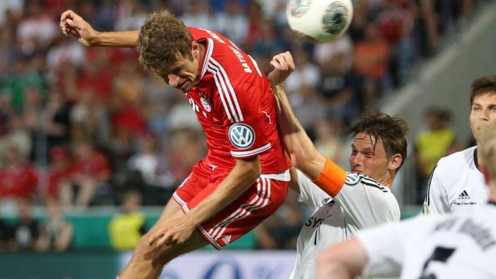 Pokalspiel Bayern