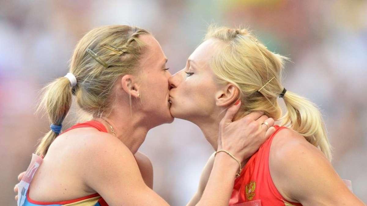 Lesbische Sportlerinnen