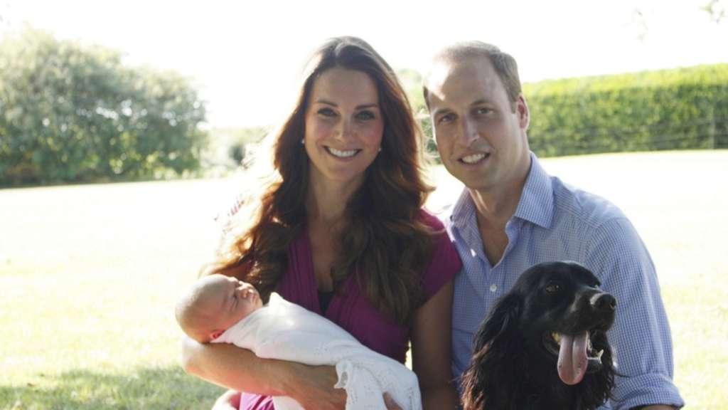 Prinz george w chst in jungle babyzimmer auf stars - Babyzimmer kate ...