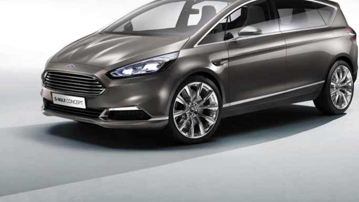 Ford s max concept auf der iaa in frankfurt zeigt ford den neuen familien van auto