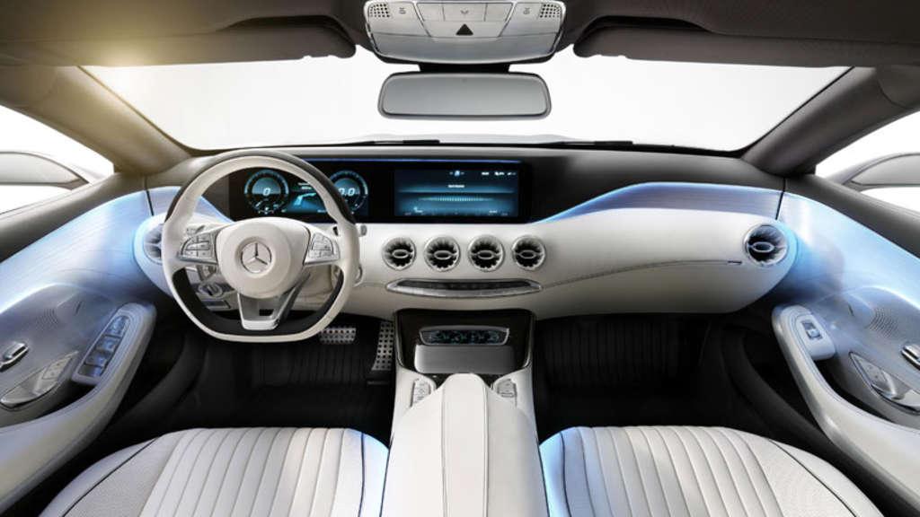 Auto cockpit mercedes  Auto-Design der Zukunft: die schönsten Cockpits | Auto