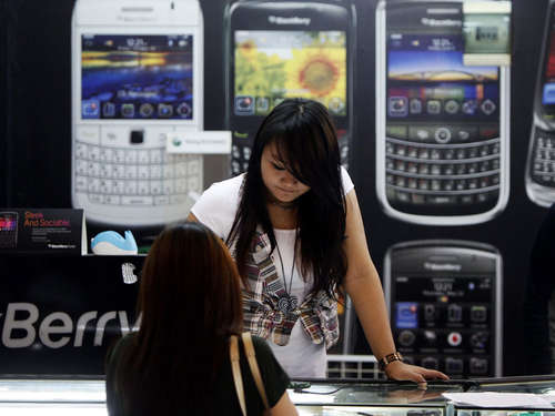 Blackberry streicht 4500 Jobs
