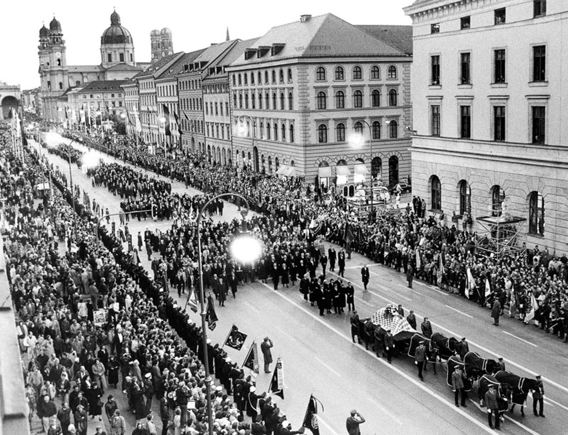 Franz Josef Strauß Beerdigung