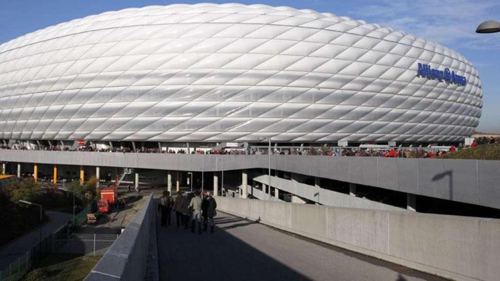 Fc Bayern München Allianz Arena Wird Zum Multimedia Tempel