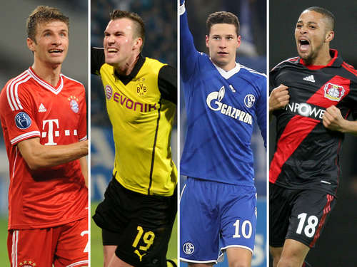 Bundesligisten rocken Champions League