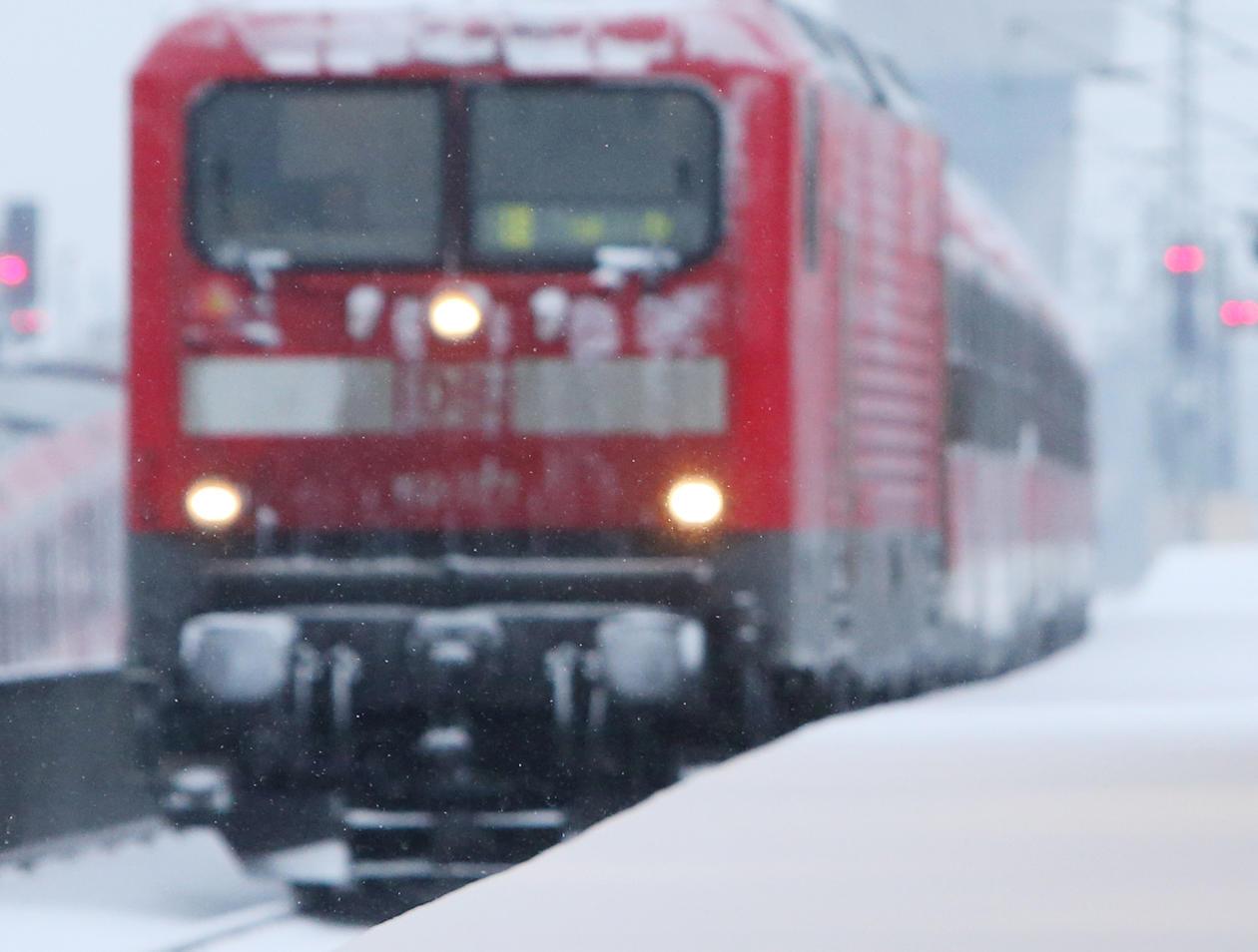 Bahn ärger Zug Nach München Bleibt Liegen Deutsche Bahn