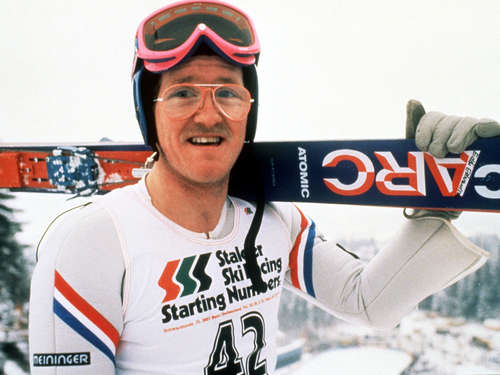 """Eddie The Eagle"": Show-Wettkampf"