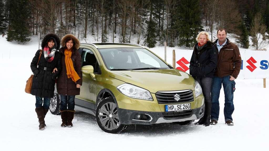 Suzuki SX4 S-Cross: Der neue Allrader bei Schnee und Eis im Test | Auto