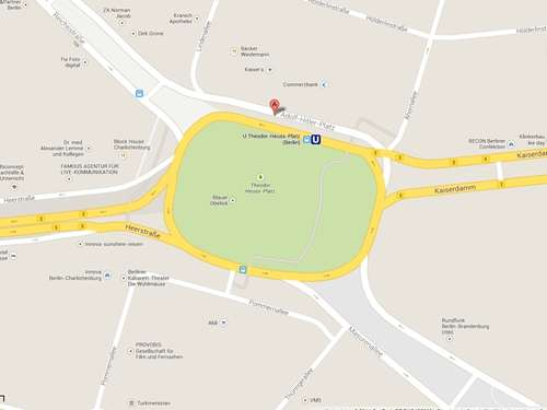 Google zeigt Adolf-Hitler-Platz in Berlin