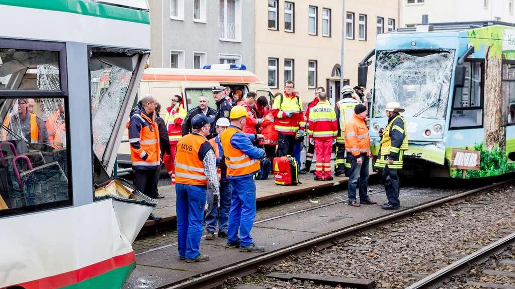 Strassenbahn Unfall