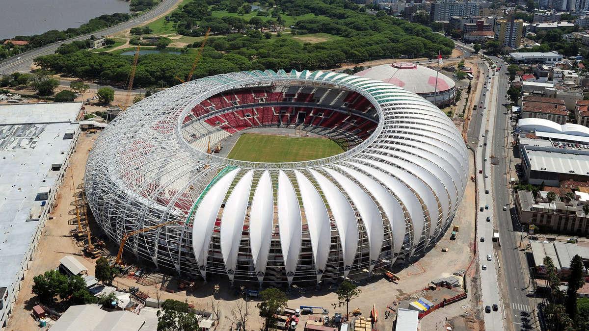 wm 2014 in brasilien stadion in porto alegre eingeweiht fu ball. Black Bedroom Furniture Sets. Home Design Ideas