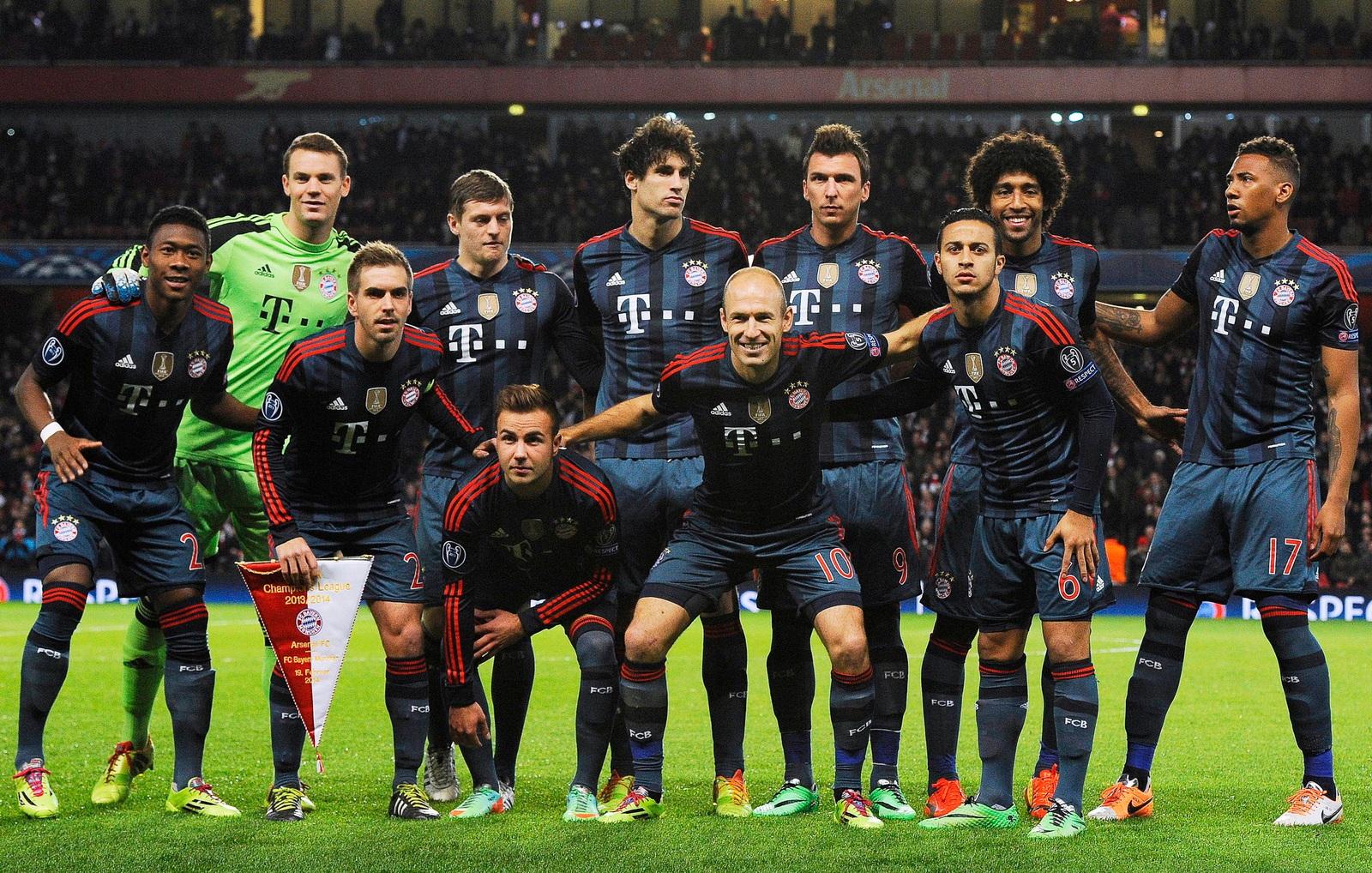 Bildergebnis für 19.02.2014 Arsenal - Bayern