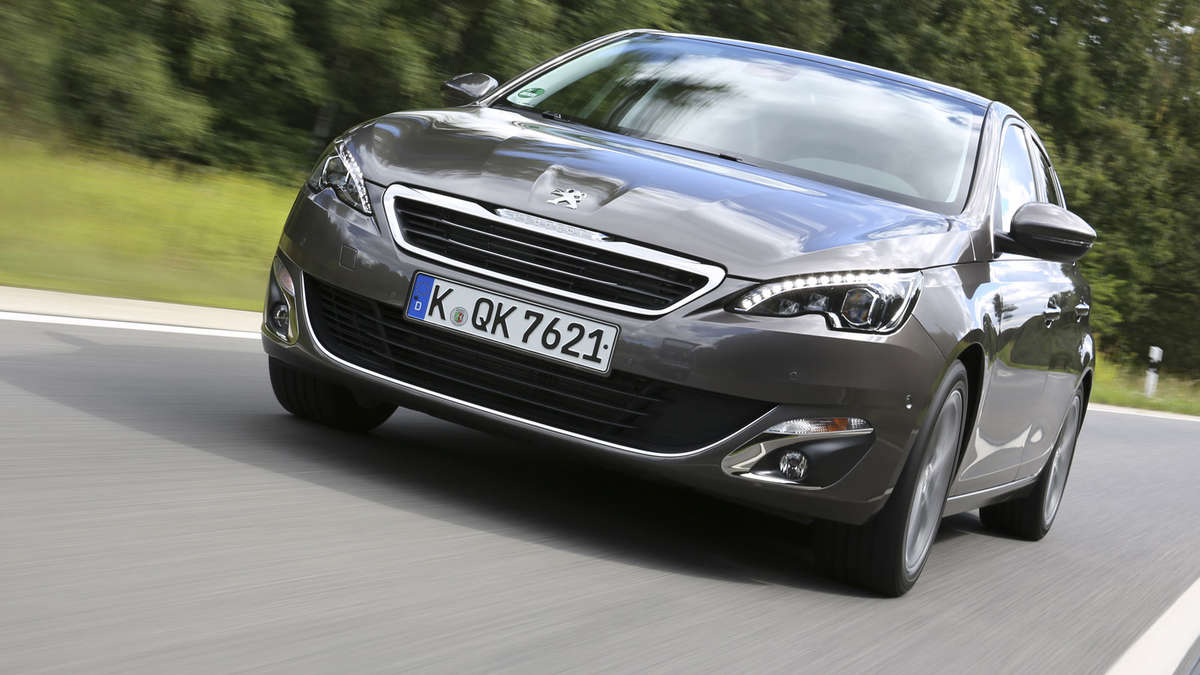 peugeot 308 ist das car of the year 2014 auto. Black Bedroom Furniture Sets. Home Design Ideas