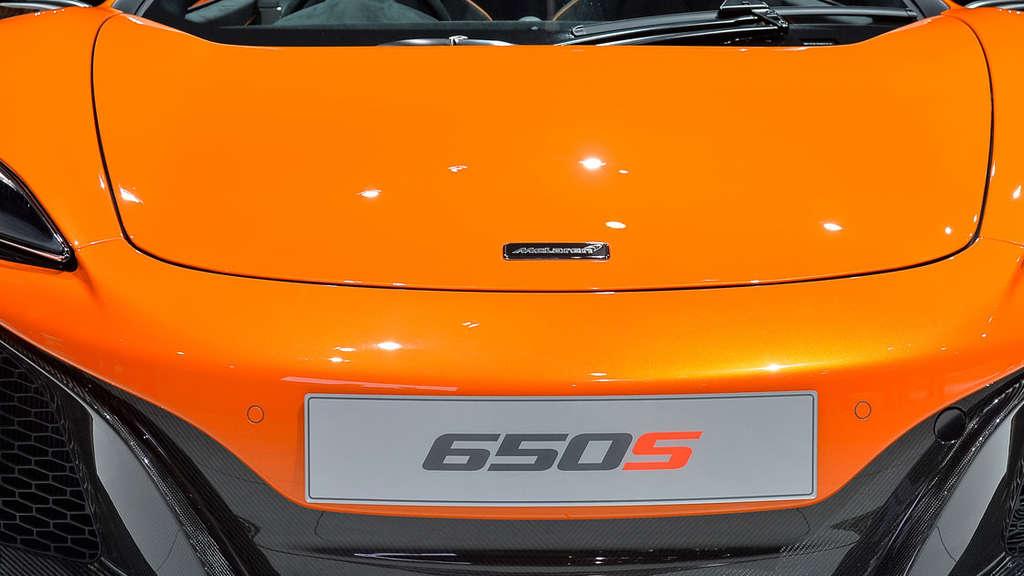 Die Farbe Orange Ist Trend Auf Dem Genfer Autosalon 2014 Auto