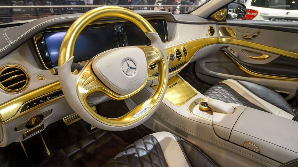 Bling-Bling Benz: Carlsson CS50 Versailles Edition feiert Premiere in Genf 2014