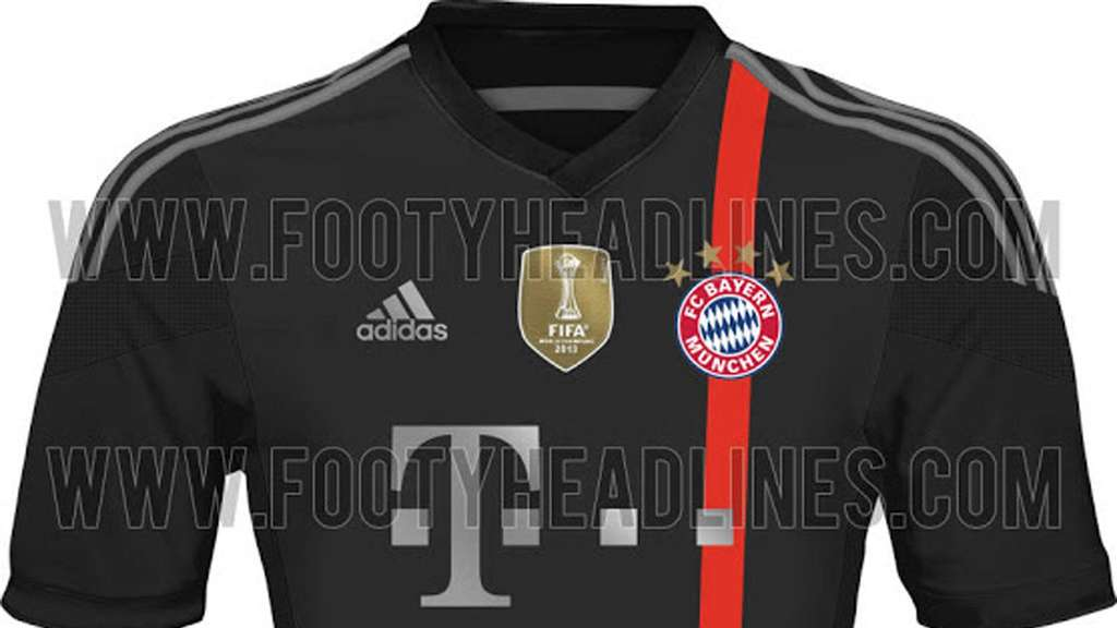 fc bayern m nchen trikot 2014 2015 f r champions league. Black Bedroom Furniture Sets. Home Design Ideas