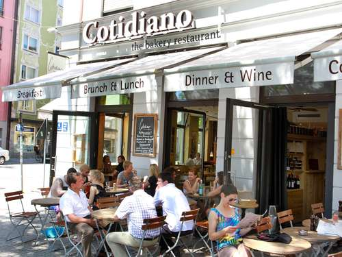 Hier schmeckt's uns: Cotidiano