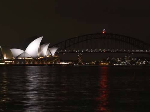 "Sydney läutet ""Earth Hour"" ein"