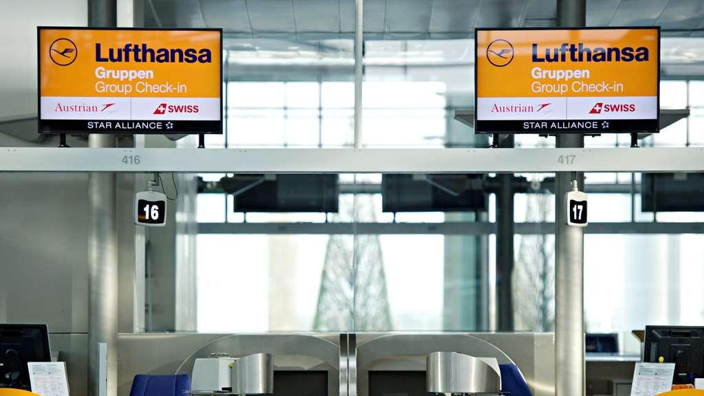 Lufthansa Streik So Trifft Er Den Flughafen München Region